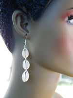 Cowrie Earrings African Jewelry Handmade Gift Ideas for Her Ethnic Earrings