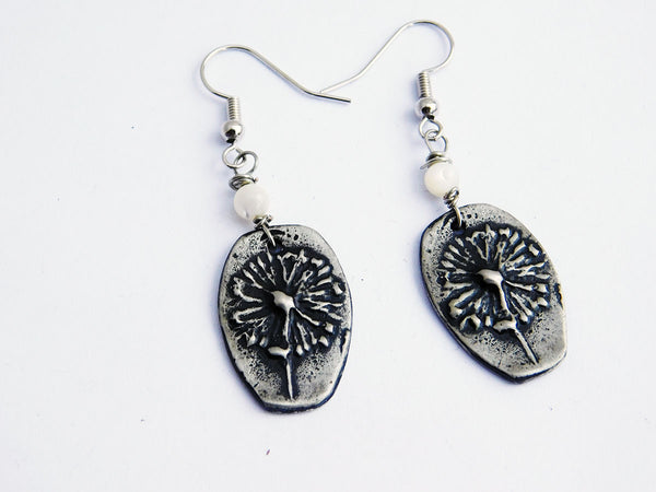 Dandelion Earrings Women Jewelry