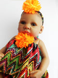 African Doll Baby Girl Doll Black lifelike realistic African American