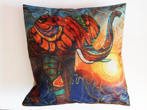 African Elephant Pillowcase Soft Ethnic Afrocentric Gift Ideas for Her Black Owned Business The Blacker The Berry