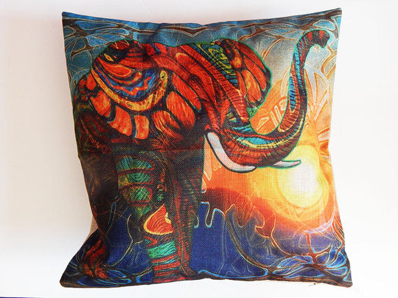 African Elephant Pillowcase (PILLOWCASE ONLY)