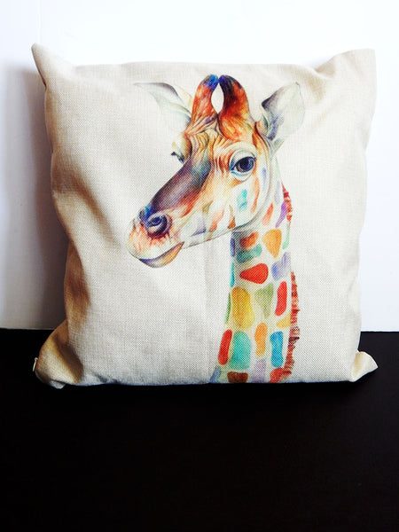 Giraffe Pillowcase African (PILLOWCASE ONLY)
