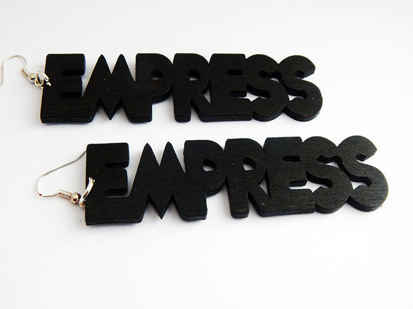 Empress Earrings Statement Natural Hair Earrings