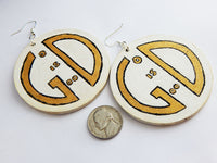 God is Good Earrings God Jewelry Christian Wooden Spiritual Inspirational