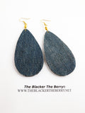 Jean Earrings Blue Jewelry