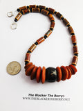 Ethnic Necklaces Beaded Jewelry Brown Women