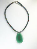 Green Necklace Adjustable Jewelry Gift Ideas for Her