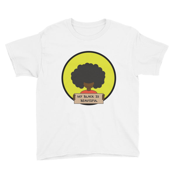 My Black is Beautiful Youth Tee Short Sleeve T-Shirt