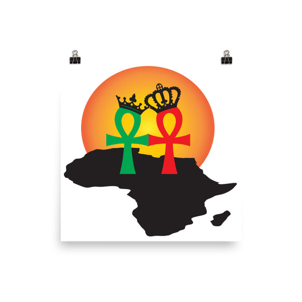 RBG Africa Ankh Love Artwork