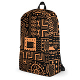 African Mudcloth Print Backpack