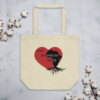 Love My African Roots Eco Tote Bag
