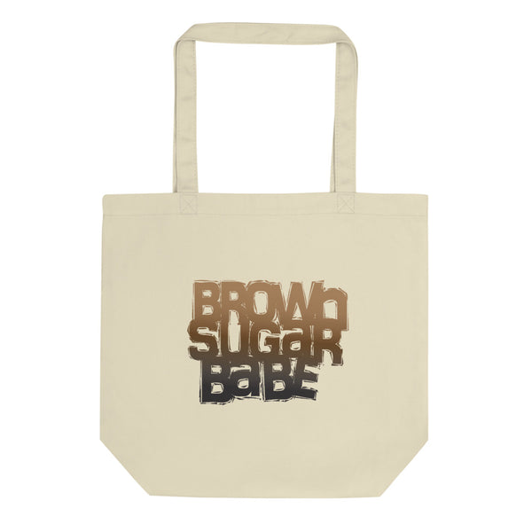 Brown Sugar Babe Eco Tote Bag