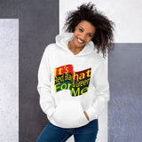 It's that Red, Black & Green For Me Hoodie for Women