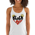Black Love Women's Racerback Tank