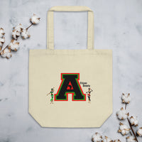 African Beauty Collegiate Eco Tote Bag