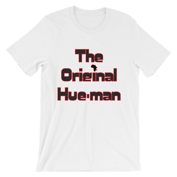 Unisex short sleeve Hue-Man t-shirt