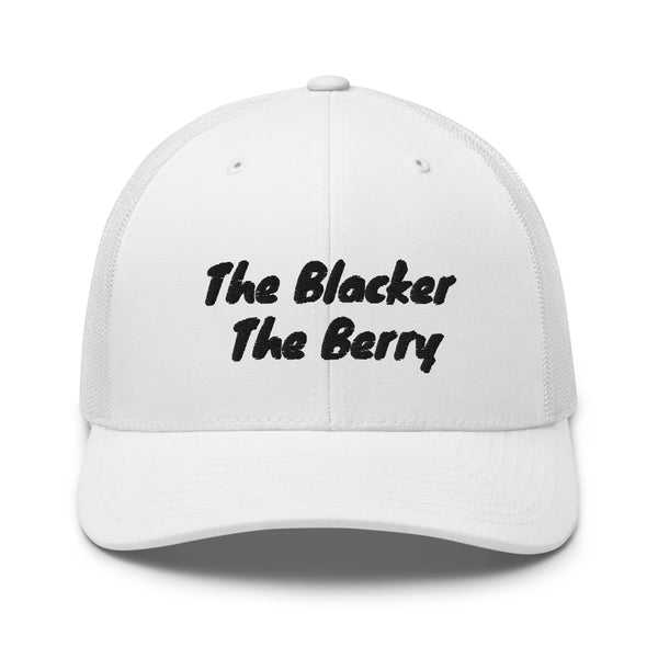 The Blacker The Berry Trucker Cap