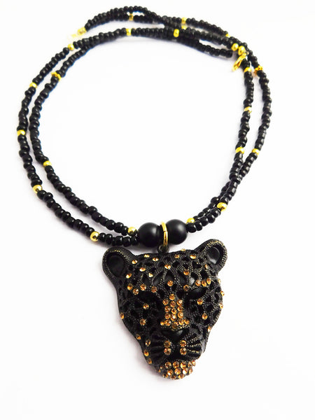 Panther Necklace Cheetah Jewelry Women Gift Ideas for Her