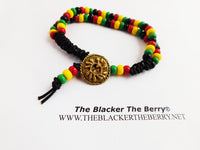 African Anklet Beaded Women Rasta Ethnic Summer Jewelry