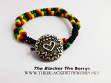 Anklet Rasta Beaded Leather Summer Jewelry
