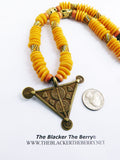 African Necklaces Triangle Ethnic Jewelry Unique
