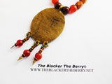 African Necklaces Beaded Jewelry Crocodile Ethnic