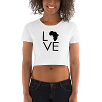 Africa Love Women's Crop Tee