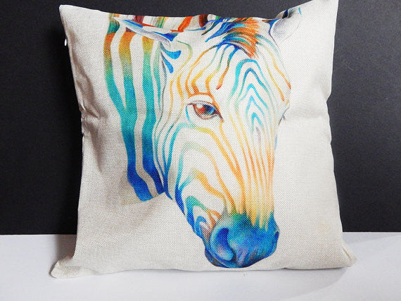 Zebra Pillowcase African Zebra Pillow Covers (PILLOWCASE ONLY)