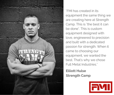 Elliott Hulse - Strength Camp