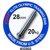 YORK® 7FT Mens Elite Olympic Training Bar - Full Metal Industries