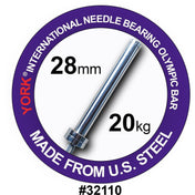 YORK® North American Needle Bearing Olympic Bar - Full Metal Industries