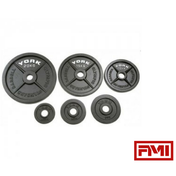 "YORK® 2"" Cast Iron Olympic Plates - Full Metal Industries"