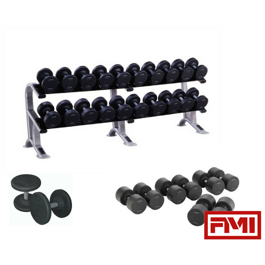 YORK Pro-Style Dumbbell Sets