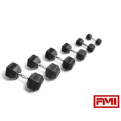 YORK® Rubber Hex Dumbbells - Full Metal Industries