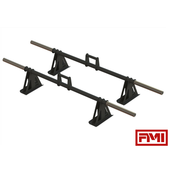 HD Raised Farmer's Walk Handles - Full Metal Industries