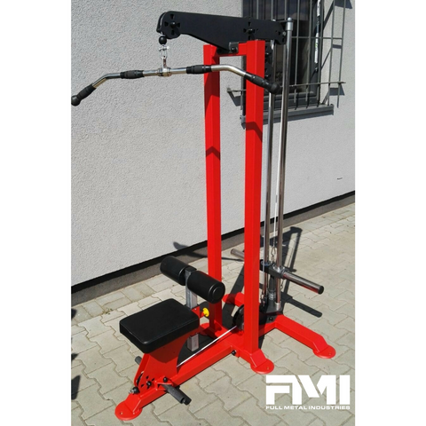 HD Plate Loaded Lat Pulldown/Low Pulley Row Combo