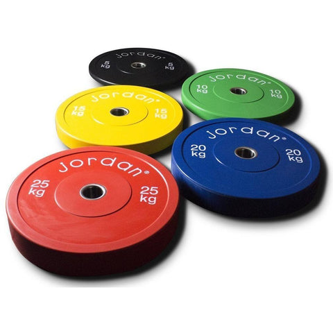 High Grade Coloured Black Rubber Bumper Plates - Full Metal Industries