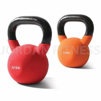 Jordan Coloured Neoprene Kettlebells
