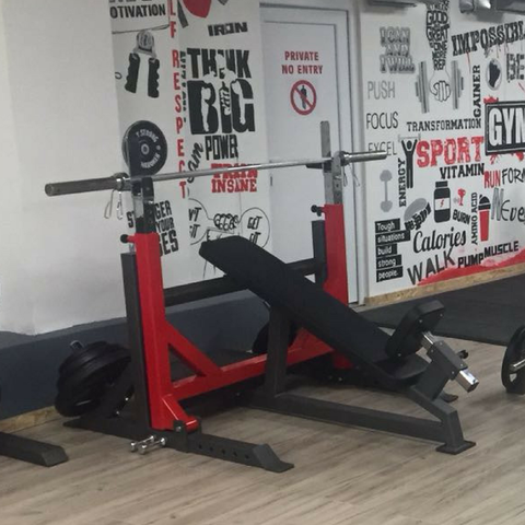 Incline Olympic Breaker Bench - Full Metal Industries