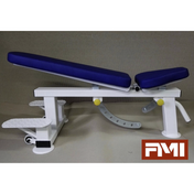 HD Adjustable Bench with Spotting Platforms - Full Metal Industries