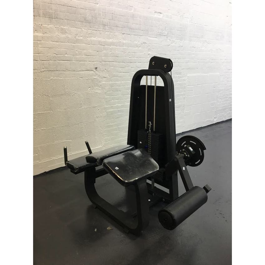 Lying leg curl machine
