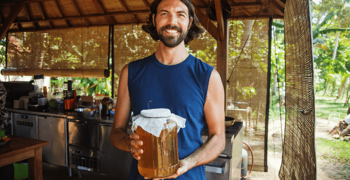 How to Make Kombucha with Tons of Health Benefits
