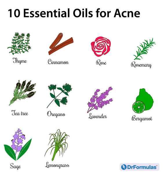 10 Essential Oils for Acne Treatment