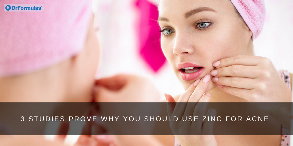 3 Studies Prove Why You Should Use Zinc for Acne