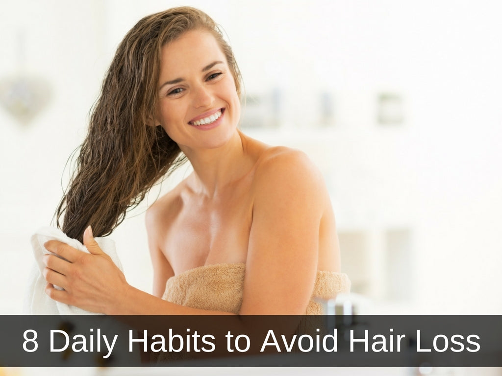 Daily Habits to Avoid Hair Loss