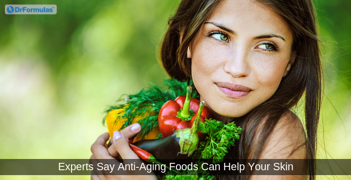 Experts Say Anti-Aging Foods Can Help Your Skin