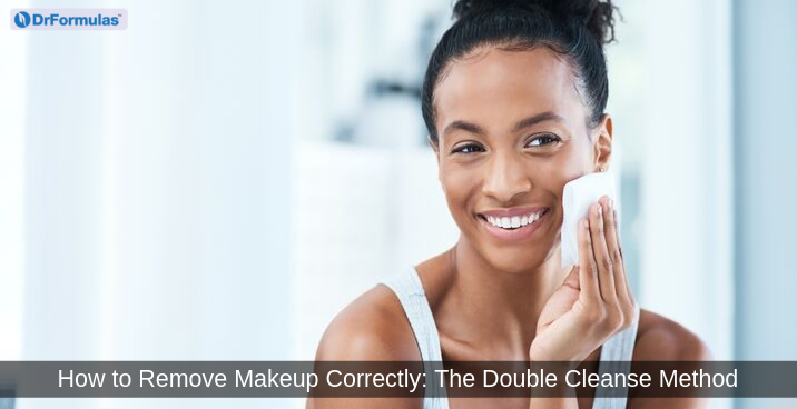 removing makeup correctly