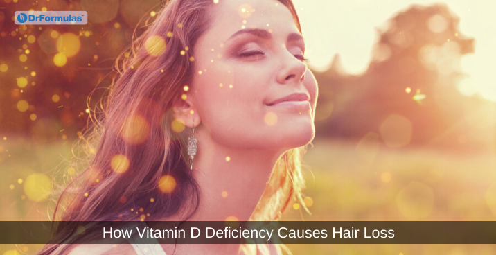 vitamin d causes hair loss