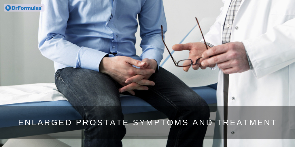 symptoms and treatments for enlarged prostate