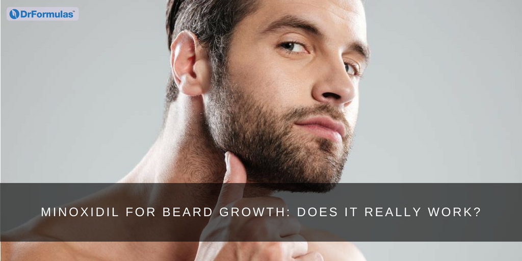 Minoxidil For Beard Growth Does It Really Work